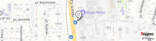 Лаборатория автостекла на карте Алматы