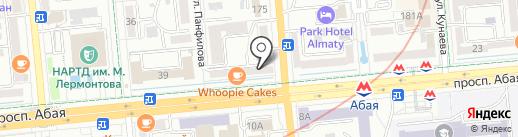Sharm на карте Алматы