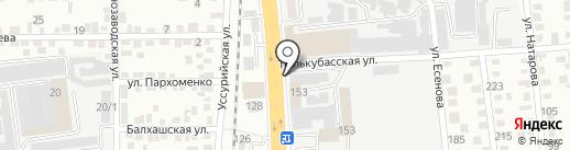 POOL-STAR на карте Алматы