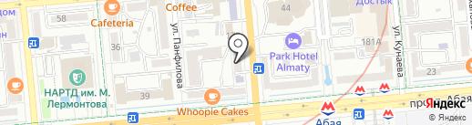 Kasean, ТОО на карте Алматы