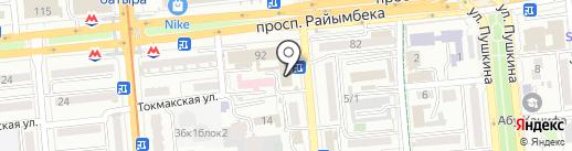 Lamoda.kz на карте Алматы