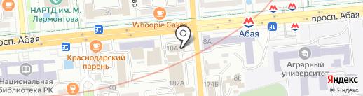 BeSmart на карте Алматы