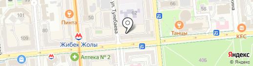 Magnet Print на карте Алматы