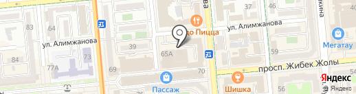 Банзай-Power на карте Алматы