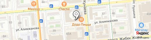 Tour Bar на карте Алматы