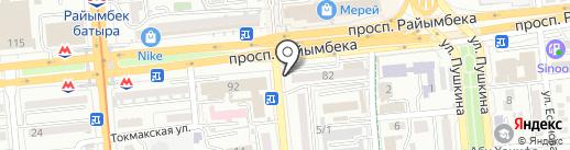 Тулпар Сервис на карте Алматы