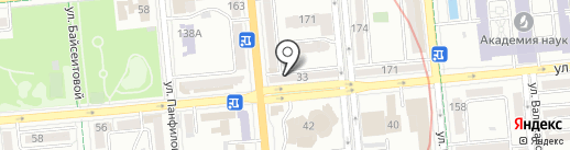 Туристский информационный центр г. Алматы на карте Алматы