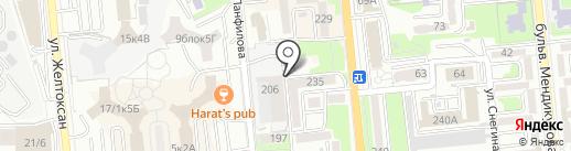 Nurhost.kz на карте Алматы