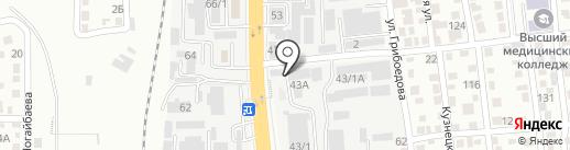 Стекольный мастер на карте Алматы