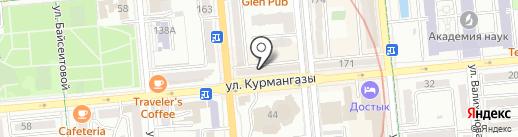 А-студия на карте Алматы