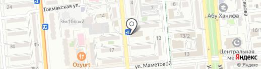 Элмас-БИС на карте Алматы