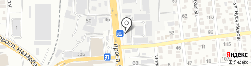 Достар и К, ТОО на карте Алматы