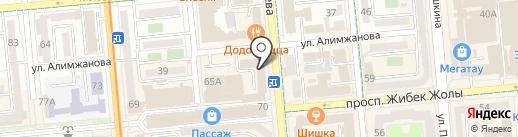 Сымбат на карте Алматы