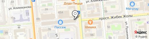 Граверная мастерская на карте Алматы