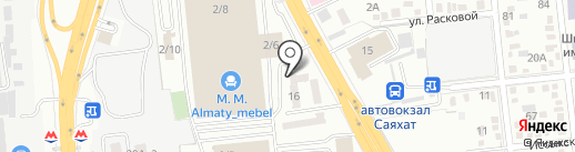 International Cargo Service на карте Алматы