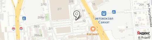ORIENT MUSIC PRODUCTION на карте Алматы