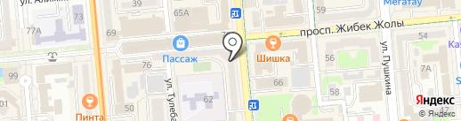 Zhabel на карте Алматы