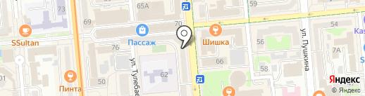 Gauche на карте Алматы