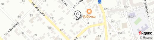 Acis distribution на карте Алматы