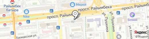 Century colors на карте Алматы