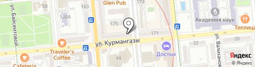 Камея-А на карте Алматы