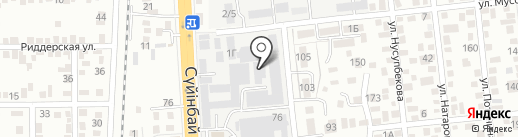 TAPC group, ТОО на карте Алматы