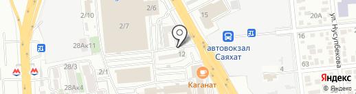 Team Drive, ТОО на карте Алматы