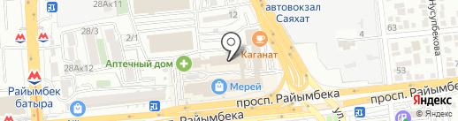 ItalMobili на карте Алматы