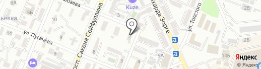 Ютас на карте Алматы