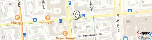 Агат Техно Ломбард, ТОО на карте Алматы