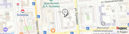 Городской специализированный дом ребенка №1 на карте Алматы
