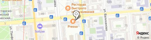 Pinch на карте Алматы