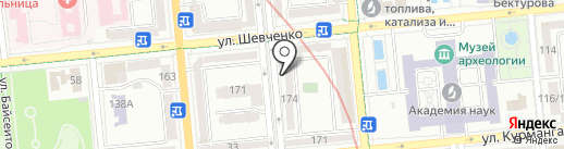 BOOKER на карте Алматы