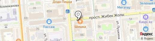 Pavel на карте Алматы