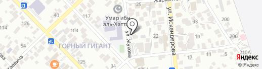 Столовая на карте Алматы