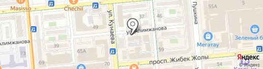 Art Print com, ТОО на карте Алматы