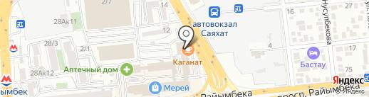 АС-Брокер на карте Алматы