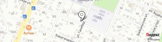 Мольдер на карте Алматы