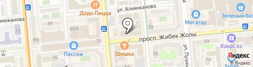 Рукоделие на карте Алматы