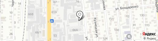 СОЖИС, ТОО на карте Алматы
