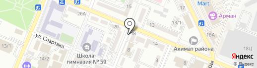 Алтын-Ломбард, ТОО на карте Алматы