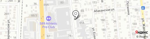 ГЦИ на карте Алматы