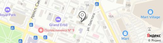 SN-Studio на карте Алматы