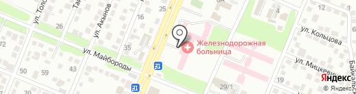 Городское патологоанатомическое бюро №4 на карте Алматы