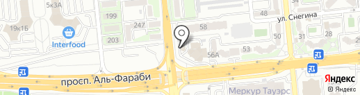 CDC-2 на карте Алматы