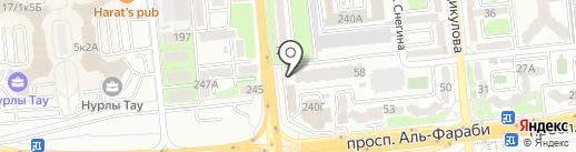 Батыс Реил Сервис на карте Алматы