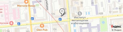 Bravo bet на карте Алматы