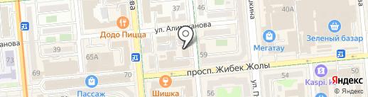 Strada Media на карте Алматы