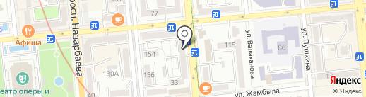 Пятнышко на карте Алматы