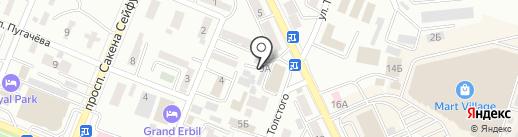 Адвокат-Юрист на карте Алматы